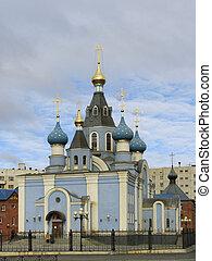 church., křesťanský