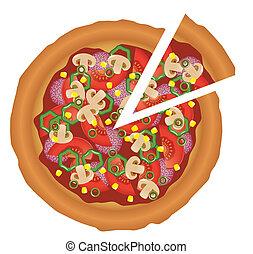 Chutná pizza