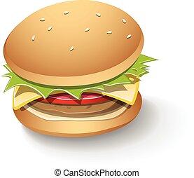Chutnej hamburger