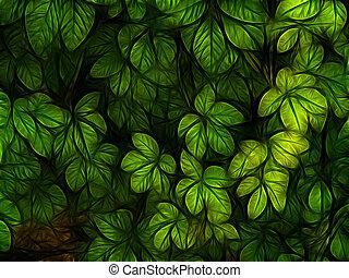 colorful listoví