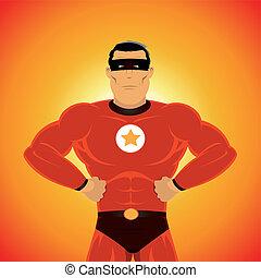 comic-like, přebytečná- věc hrdinové