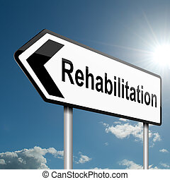 concept., rehabilitace