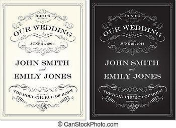 dát, dávný, konstrukce, vektor, podoba, svatba