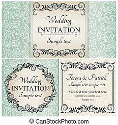 dát, konzervativní, baroko, pozvání na svatbu