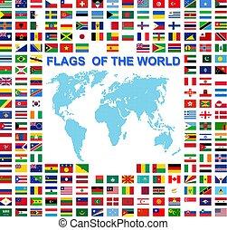 dát, země, nejvyšší, podepsaný, postavení, vlaječka, jména, společnost