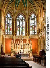 dávný, křtitel, církev, katolík, svatý hajzl, francouzština