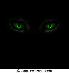 dírka, nadšený, nezkušený, devítiocasá kočka, ponurý