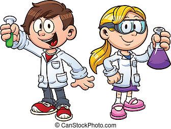 děti, věda