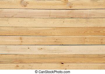 Dřevěná anténa, žlutá struktura