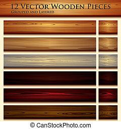 Dřevěná struktura bezedné pozadí