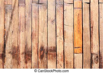 Dřevěná struktura