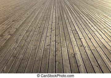 Dřevěné prkny