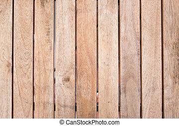 Dřevěný, hnědý, povrchový