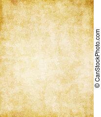 důležitý, dávný, tkanivo, noviny, grafické pozadí, pergamen