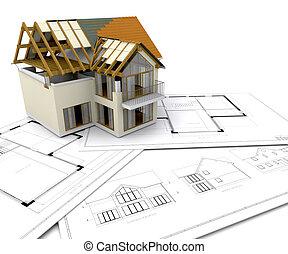 Dům pod konstrukcí