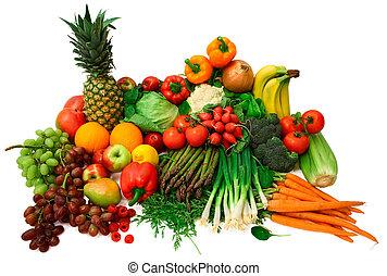 dary, čerstvá zelenina