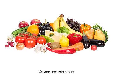 dary, čerstvý, osamocený, zelenina, neposkvrněný