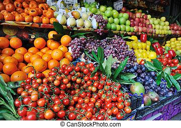 dary, obchod prostořeký, zelenina