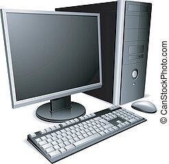 Dektop počítač.