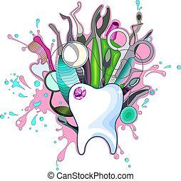 Dentální nástroje
