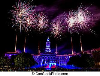 Denver, 4. července ohňostroj