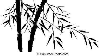 Design čínského bambusu