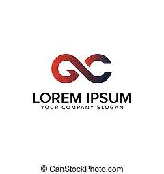 design, pojem, litera, gc, šablona, emblém