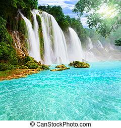 Detianský vodopád