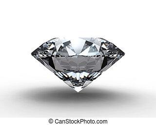 Diamant s odrazem