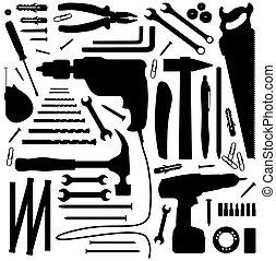 Diiyol - silutová ilustrace