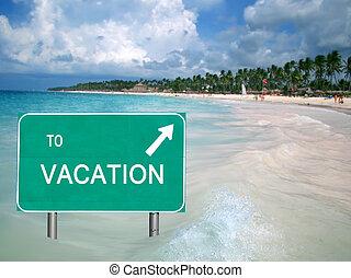 Dopis na dovolenou v tropické vodě
