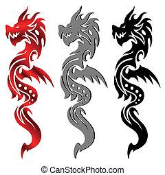 drak, čepobití, kmenový