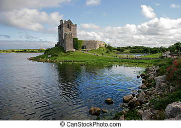 dunguaire, irsko, věž