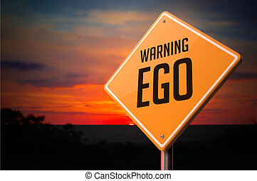 Ego na varovné cestě.