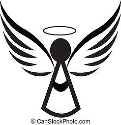 emblém, anděl, ikona