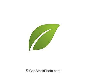 emblém, ekologie, -, ilustrace, vectors