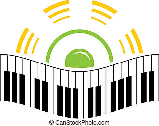 emblém, hudba