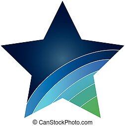 emblém, hvězda, ikona