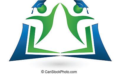 emblém, kolektivní práce, kniha, ák