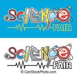 emblém, krásný, věda