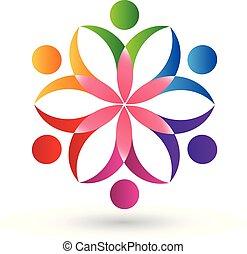 emblém, květ, kolektivní práce, národ