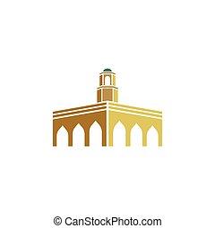 emblém, mešita