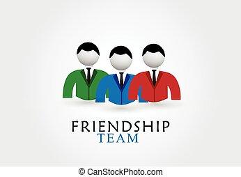 emblém, přátelství, mužstvo