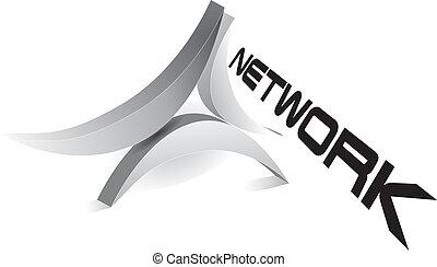 emblém, síť