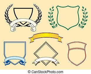 emblém, standarta, základy