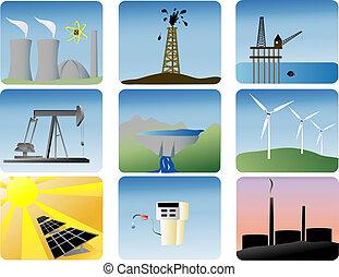 Energetické pole nastaveno