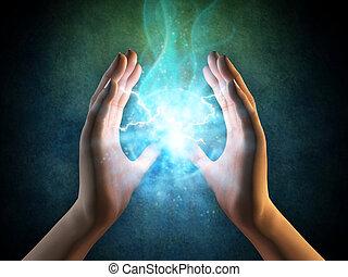 Energie z rukou