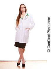 eny udělit doktorský titul komu, lékařský zdravotní stav, péče, stethoscope.
