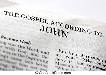 evangelium, jan