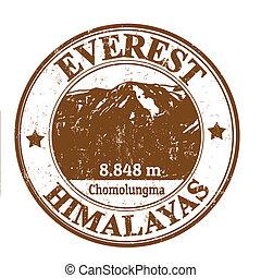 Everestová známka